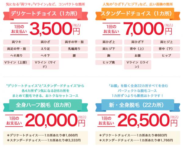 銀座カラー キャンペーン特典 最新情報