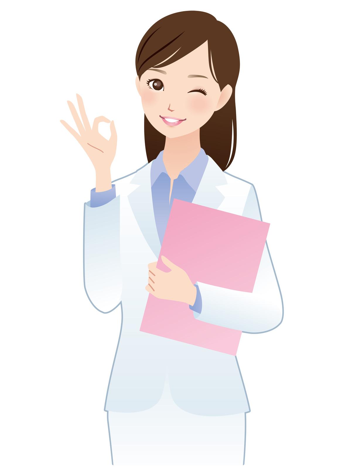 管理人(女性白衣)