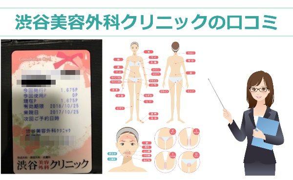 渋谷美容外科クリニック 口コミ